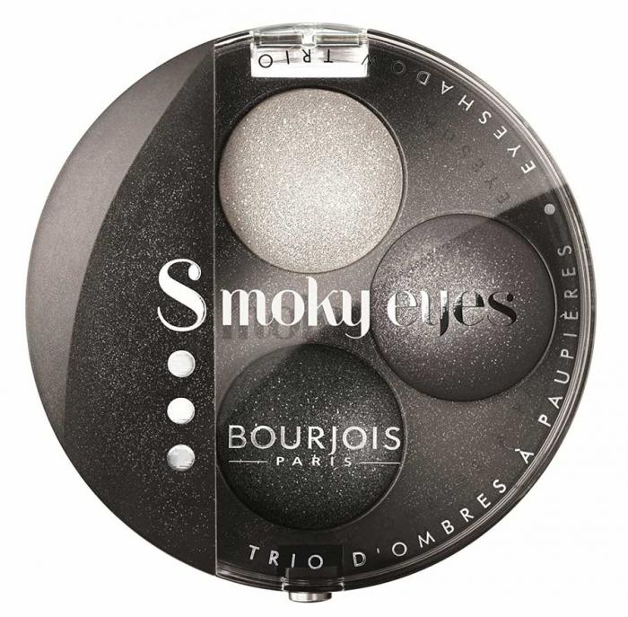 Paleta 3 Farduri Bourjois Paris Smoky Eyes - 16 Gris Party, 4.5 g