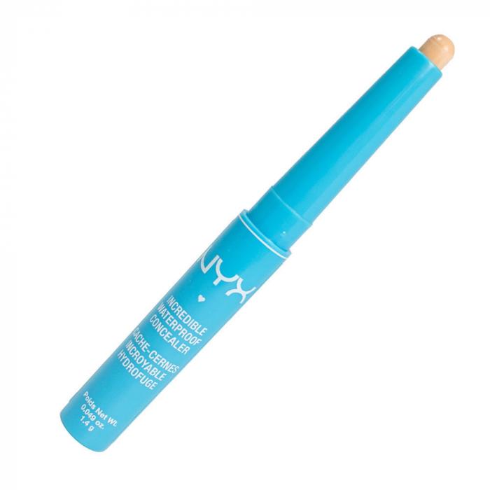 Corector NYX Professional Incredible Waterproof Concealer, CS03 Light