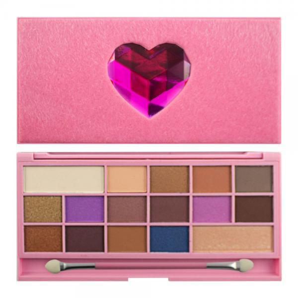Paleta de Farduri MAKEUP REVOLUTION I Heart Makeup Unicorn Love Palette, 22g