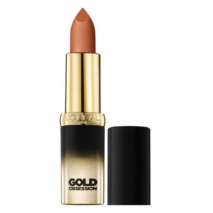 Ruj L Oreal Color Riche Gold Obsession - Nude Gold