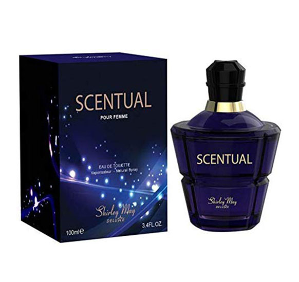 Apa De Toaleta Shirley May Deluxe, Scentual, Dama, Edt, 100 Ml