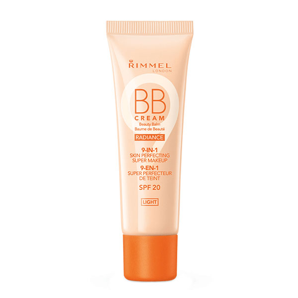 BB Cream Rimmel London 9 In 1 Radiance Skin Perfecting, Light, 30 ml