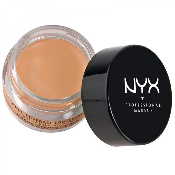 Corector Nyx Professional Makeup Full Coverage Concelear Jar - Fresh Beige, 7gr