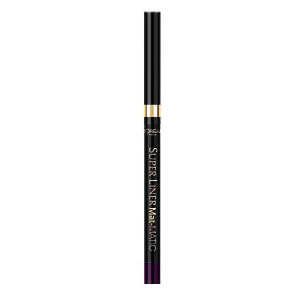 Creion De Ochi Retractabil L Oreal Super Liner Mat-MATIC - Deep Violet