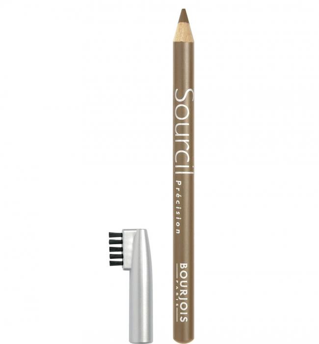 Creion pentru sprancene Bourjois Paris Sourcil Precision Eyebrow Pencil, 06 Blond Clair, 1.13 g