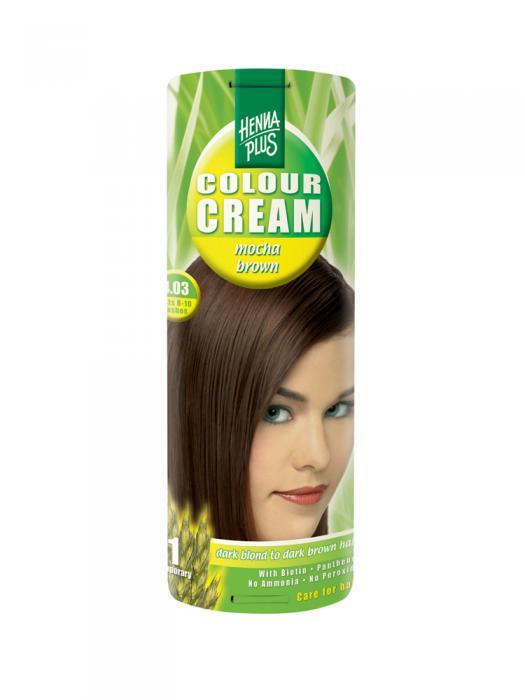 Crema Nuantatoare De Par Hennaplus Colour Cream Mocha Brown 4.03