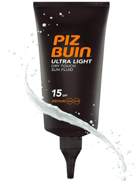 Fluid Piz Buin Ultra Light Dry Touch Cu Protectie Solara Spf 15 150 Ml