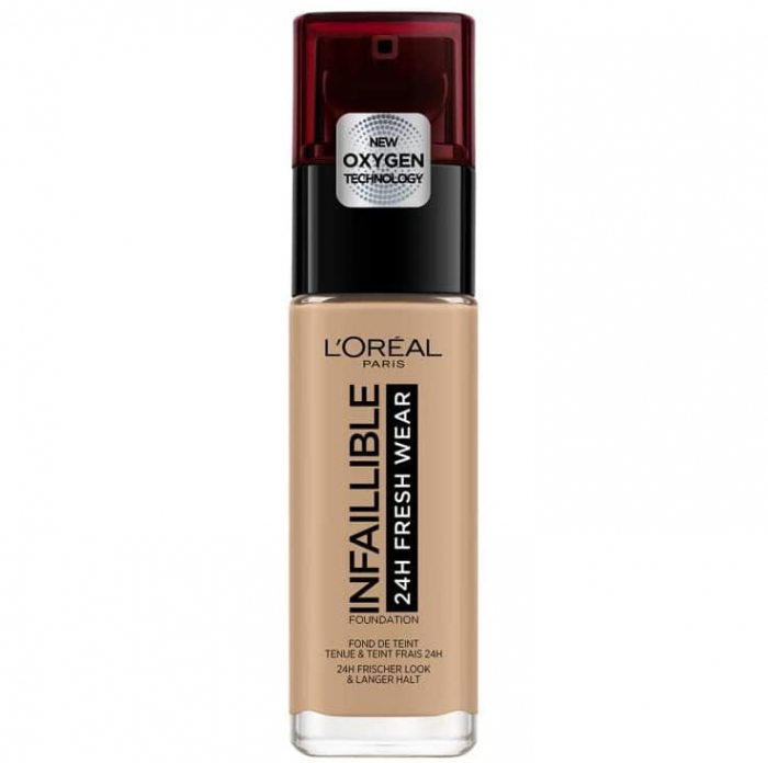 Fond De Ten L Oreal Paris Infaillible 24h Fresh Wear, 150 Radiant Beige, 30 Ml