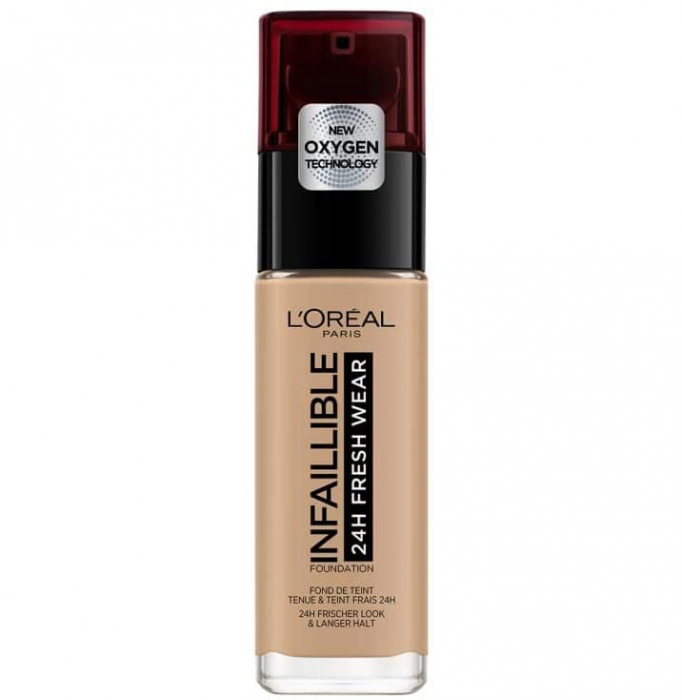 Fond de ten L Oreal Paris Infaillible 24H Fresh Wear, 230 Radiant Honey, 30 ml