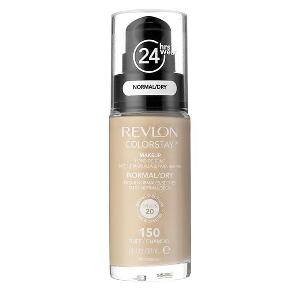 Fond De Ten Revlon Colorstay Normal Dry Skin Cu Pompita - 150 Buff, 30ml