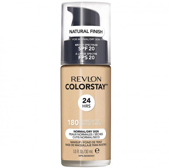 Fond De Ten Revlon Colorstay Normal Dry Skin Natural Finish 24h Spf 20 180 Sand Beige 30ml