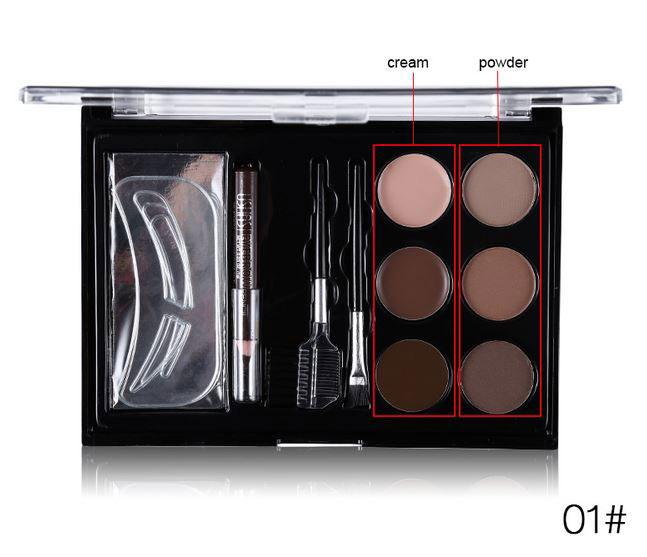 Kit Complet Pentru Definirea Sprancenelor Ushas - 01