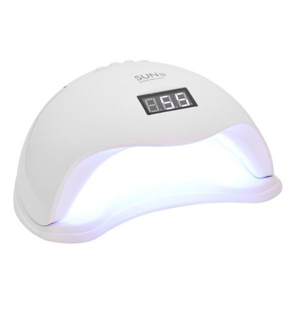 Lampa profesionala unghii UV LED SUN5, Activare prin senzori, 48 W, Uscare 10s-99s, pentru uscat oja semipermanenta sau gel UV