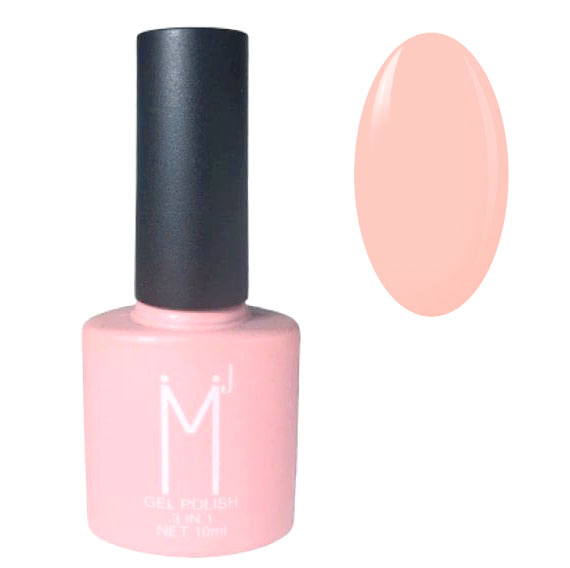 Oja semipermanenta 3 in 1, MJ Gel Polish, Nuanta 011 Fashion Pink, 10 ml