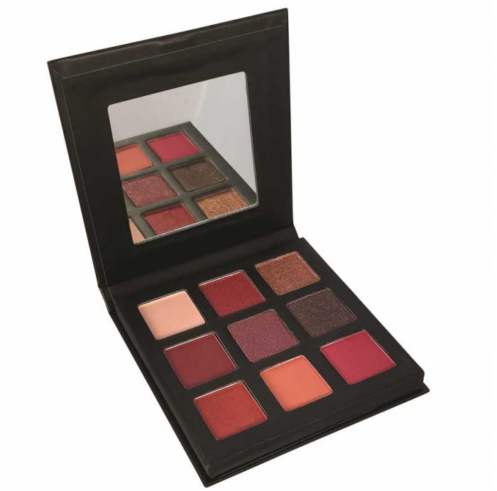Paleta Farduri TECHNIC Pressed Pigment Palette, Intrigued, 9 culori