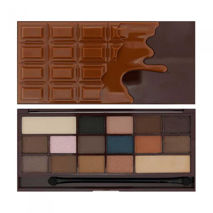 Paleta de Farduri MAKEUP REVOLUTION I Heart Makeup I Love Chocolate - Salted Caramel