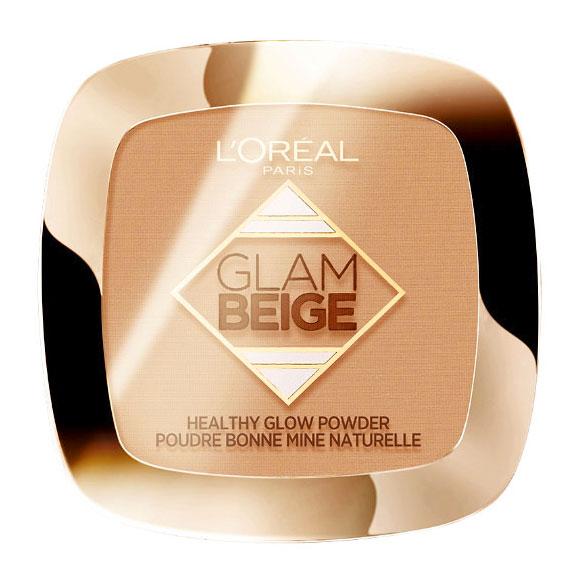 Pudra Bronzanta L Oreal Paris Glam Beige Healthy Glow Powder, Light Clair, 9 g
