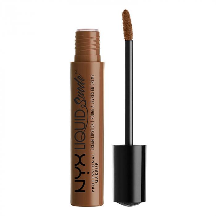 Ruj lichid mat NYX Professional Makeup Liquid Suede Cream, 22 Downtown Beauty, 4 ml
