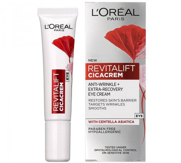 Crema de ochi anti rid L Oreal Paris Revitalift Cicacrem Extra Recovery 15 ml