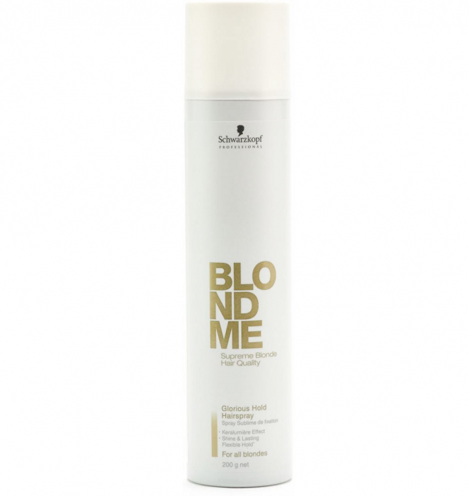 Spray fixativ Schwarzkopf BlondMe Glorious Hold Hairspray 300 ml