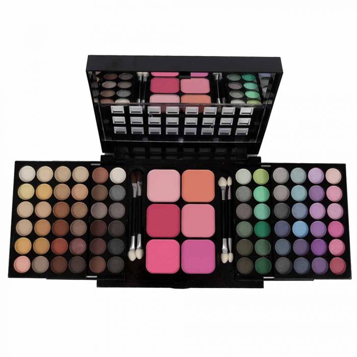 Trusa Machiaj Profesionala 78 Culori La Femme Eyeshadow Blusher Palette