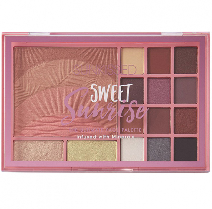 Paleta Pentru Machiaj Sunkissed Sweet Sunrise The Ultimate Face Palette