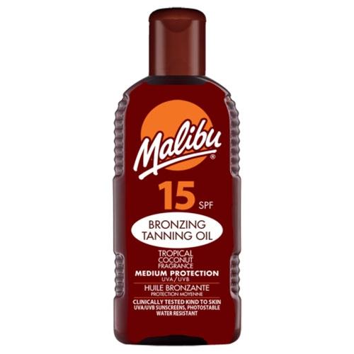 Ulei De Plaja Accelerator Malibu Bronzing Tanning Oil Cu Spf15 200 Ml