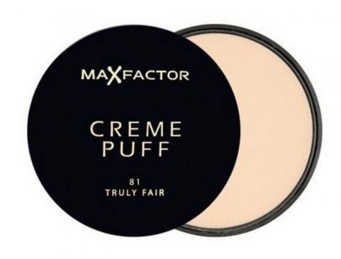Pudra Max Factor Creme Puff 81 Truly Fair