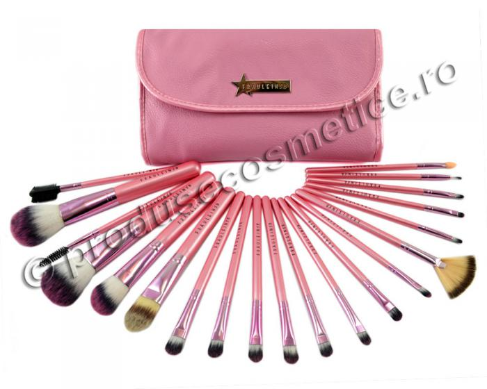 Set de 20 Pensule Profesionale Fraulein38 Pink Candy-big
