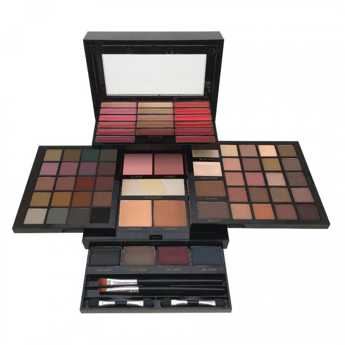 Kit complet pentru machiaj Body Collection England Colour Masterclass 74 de culori
