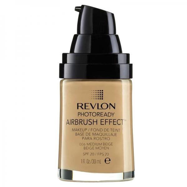Fond De Ten Revlon Photoready Airbrush Effect 006 Medium Beige 30 Ml