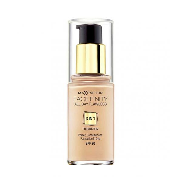 Fond De Ten MAX FACTOR FACE FINITY All Day Flawless 3 In 1 47 Nude 30ml