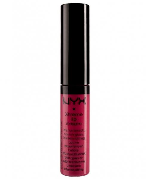 Gloss Nyx Professional Makeup Xtreme Shine Lip Cream Strawberry Jam 7 ml