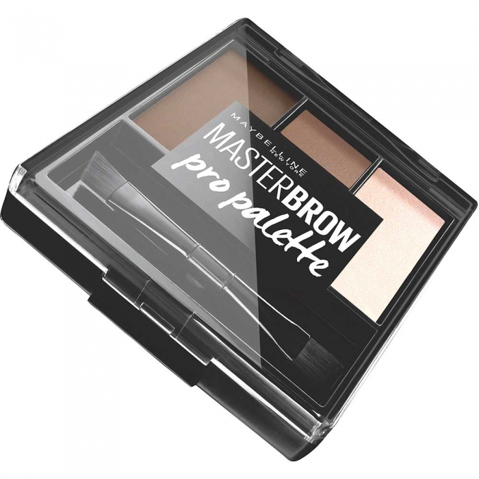 Kit pentru sprancene Maybelline New York Master Brow Pro Pallete Soft Brown