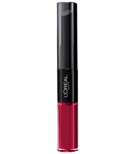 Ruj lichid rezistent la transfer L Oreal Paris Infaillible 24H 214 Raspberry for life 5 ml