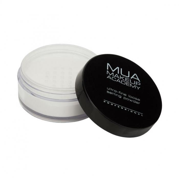 Pudra Pulbere Ultra Fina MUA Makeup Academy Professional Loose Setting Powder 18g