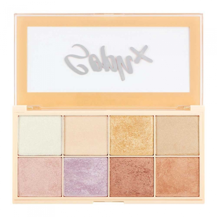 Paleta Iluminatoare Makeup Revolution Soph X Highlighter Palette 8 nuante x 2g