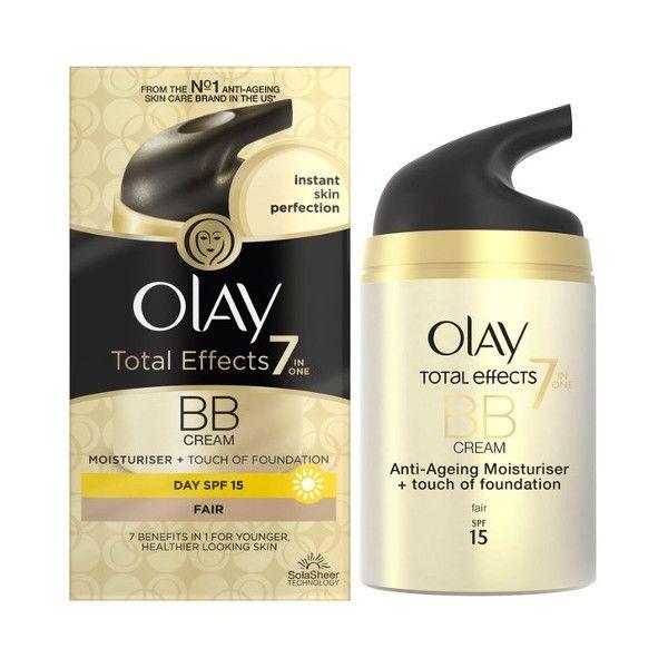 BB Cream OLAY Total Effects 7 in One BB Cream cu Efect de Fond de Ten Fair 50 ml