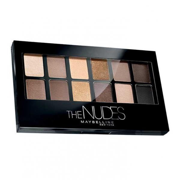 Paleta Farduri de Pleoape Maybelline NY The Nudes Eyeshadow Palette 9.6g