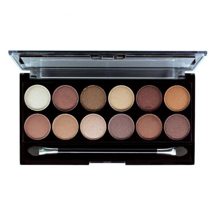 Paleta Profesionala cu 12 Farduri MUA Makeup Academy Professional Eyeshadow Palette, Heaven and Earth-big