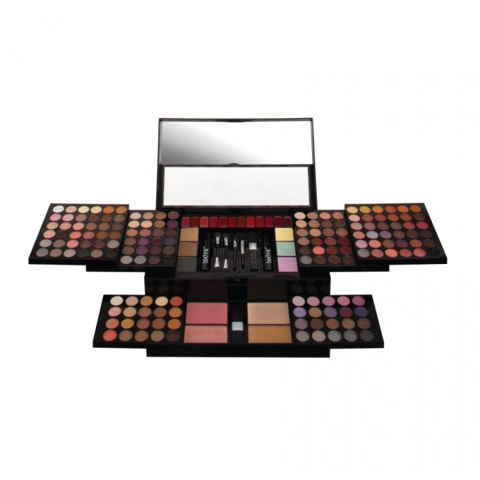 Kit complet pentru machiaj cu 190 piese Technic Colour Me Beautiful Face Palette