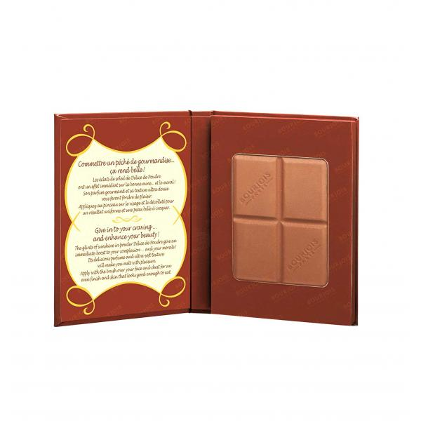 Paleta Bronzanta in forma de ciocolata BOURJOIS Paris Delice de Poudre 52 Peaux mates 16.5g