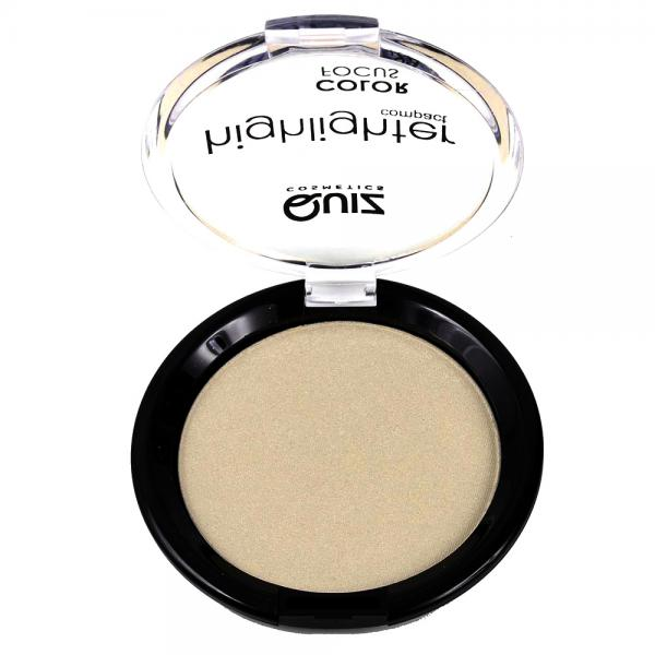 Pudra iluminatoare QUIZ Highlighter Compact Color Focus - 01, 12g-big