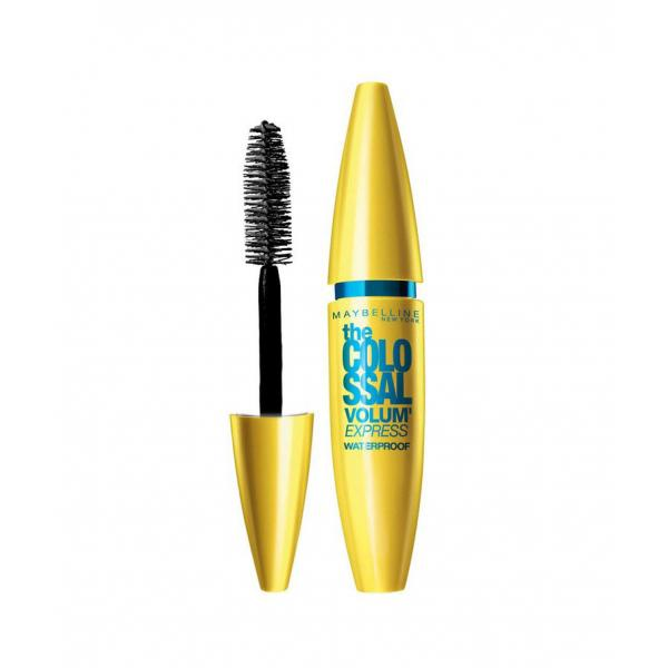 Rimel MAYBELLINE The Colossal Volum' Express WATERPROOF - Glam Black, 10.7 ml