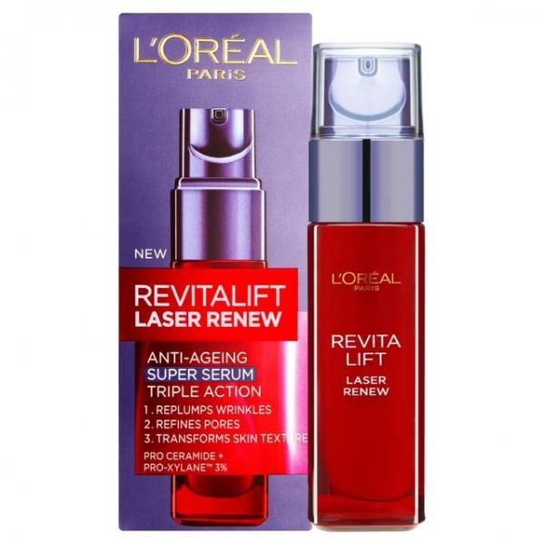Ser Anti Imbatranire L oreal Revitalift Laser Renew Super Serum 30 ml
