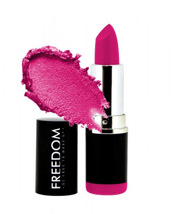 Ruj Profesional Makeup Revolution Freedom London Pro Pink Lipstick 102