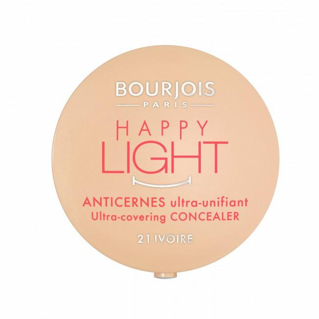 Anticearcan Corector Bourjois Happy Light 21 Ivoire 2.5 g