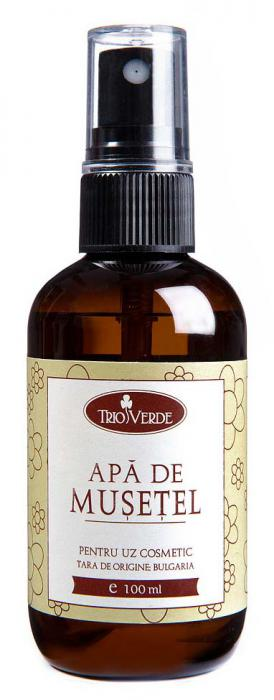 Apa de Musetel Trio Verde 100 ml - TRIO15-big