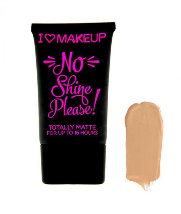 Baza De Machiaj Matifianta I Heart Makeup No Shine Please NS07