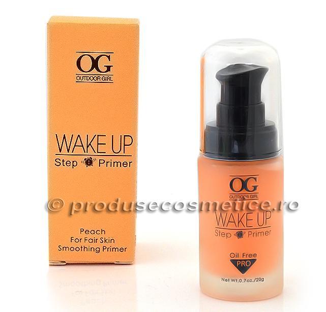 Baza De Machiaj Outdoor Girl Wake Up Step Primer Peach